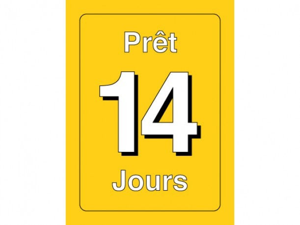 Classification Labels - Prêt 14 jours