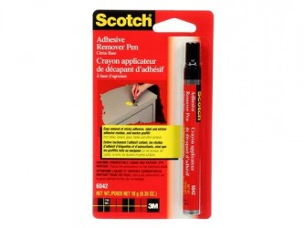 Crayon applicateur de décapant d'adhésif Scotch