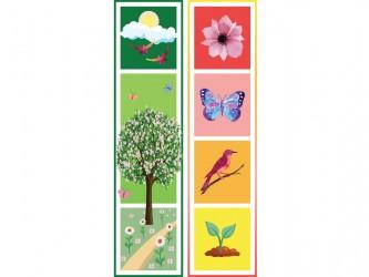 """Spring"" Biblio RPL Bookmarks"