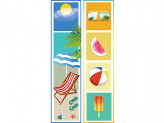 """Summer"" Biblio RPL Bookmarks"