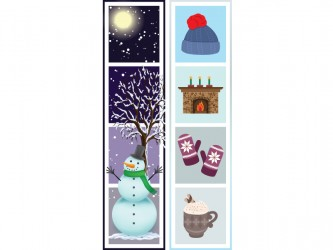 """Winter"" Biblio RPL Bookmarks"
