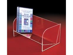 Étagère en acrylique pour disques