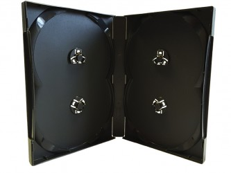 Scanavo DVD Case - 4 Discs