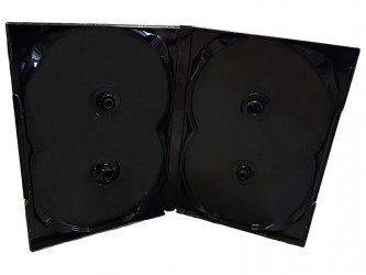 Boîter DVD Scanavo mince - 4 disques