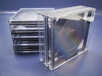 Quadruple CD Case