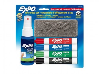Expo Dry Erase Markers Set