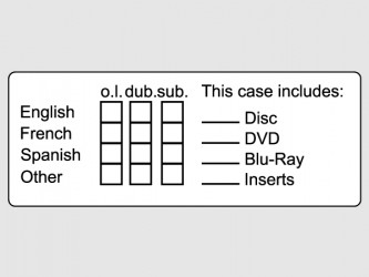Identification Labels for Audiovisual Documents - English