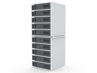 Luxor 10-Bay Charging Locker