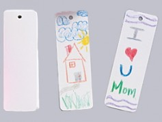 Create your own bookmarks - White