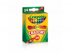 Crayons de cire de Crayola - Taille Standard - Boîte de 24