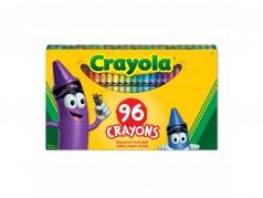 Crayons de cire de Crayola - Taille Standard - Boîte de 96