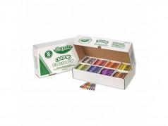Crayons de cire de Crayola - Taille Standard - Boîte de 800 (8 coul.)