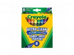 Crayola Crayons - Large Size - Box of 8