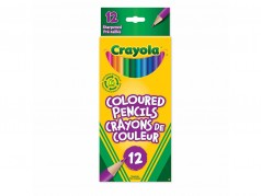 Crayola Coloured Pencils - Box of 12