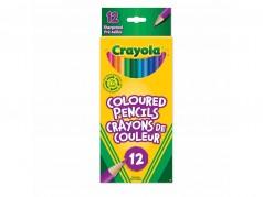 Crayons de couleur en bois de Crayola - Boîte de 12