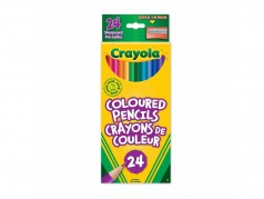 Crayola Coloured Pencils - Box of 24