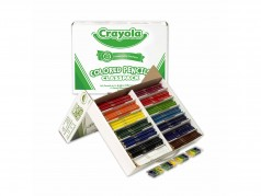 Crayons de couleur en bois de Crayola - Boîte de 462