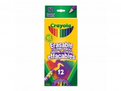 Crayola Coloured Pencils - Erasable - Box of 12