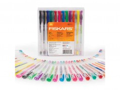 Fiskars Coloured Gel Pens - Pack of 48