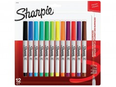 Sharpie Ultra Fine Tip Marker Pack - Pack of 12