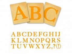 Ensemble de gabarits SureCut de Ellison - Classic Alphabet