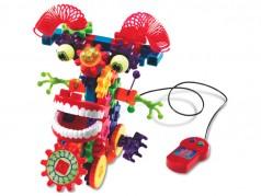 Trousse de construction motorisée Gears! Gears! Gears! - Wacky Wigglers