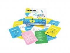 Paquet de 90 cartes d'idées Strawbees