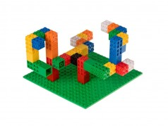 Strictly Briks Creatorz Set with Baseplate