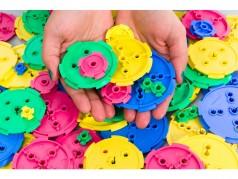 TeacherGeek Bulk Components: Mixed Pulley Set