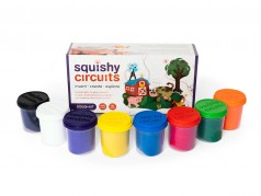 Trousse de pâte Squishy Circuits