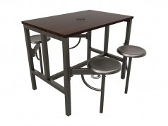 Table assis-debout Endure de OFM