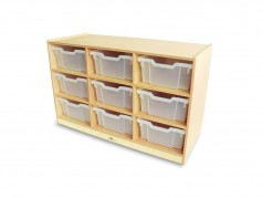 Whitney Brothers Mobile Storage Cubbies