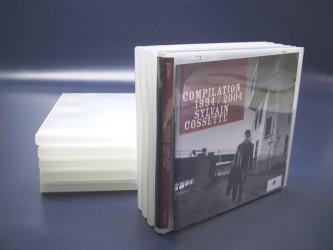 Single Polypropylene CD Case