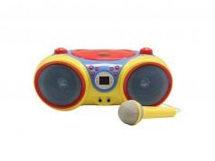 HamiltonBuhl Kids CD Player and Karaoke Machine