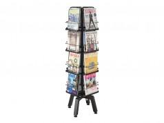 Safco Onyx Rotating Magazine Rack