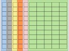 "Coloured Laser Labels - 1 3/5""W x 1""H"