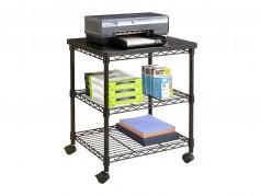Étagère mobile pour imprimante