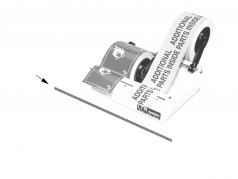 Label and Tape Dispenser RUC3005 Replacement Blade