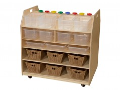 Wood Designs Trolley Art Cart