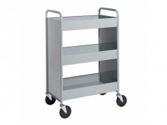 Biofit Booktruck with 3 trays