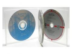 Boîtier CD en polypropylène - 4 disques