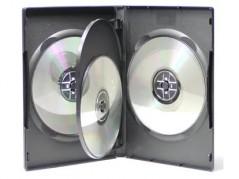 Proline DVD Case - 4 discs