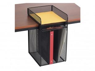 Classeur suspendu Onyx vertical pour documents avec plateau supérieur