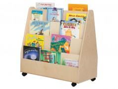 Présentoir mobile pour livres de Wood Designs