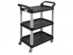 Utility Cart with 3 flat shelves