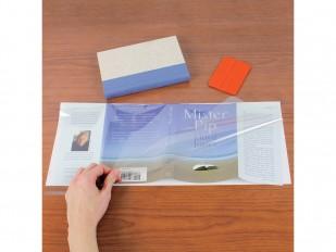 Couvre-jaquette avec dos de papier - En rouleau