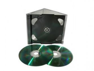 Boîtier CD double incassable Allsop