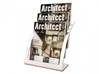 Présentoir contemporain pour magazines