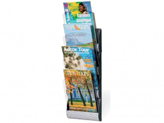 4-Pocket Magazine Rack