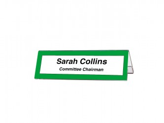 Acrylic Name Holder
